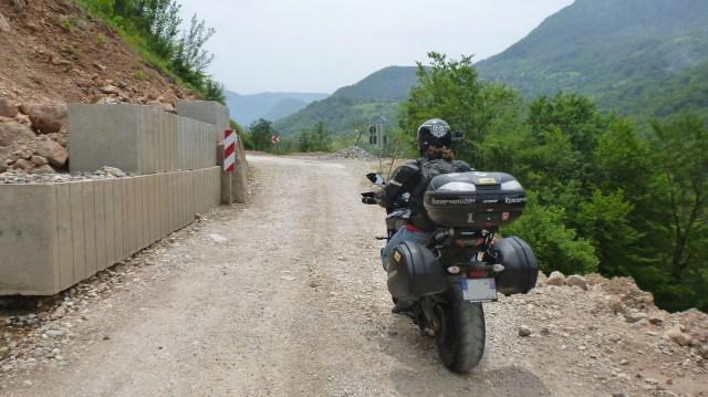 Les routes bosniaques en super état