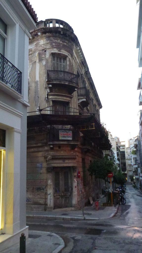 Athènes et la crise grecque