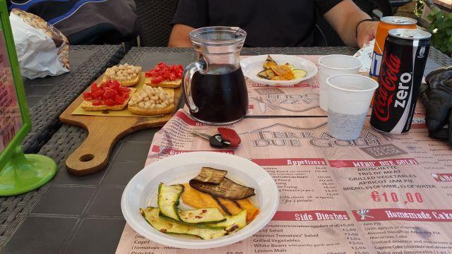 Nos plats au restaurant Terrazza Due Golfi