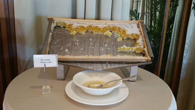 Le buffet du Grand Hotel Savoia - Gênes