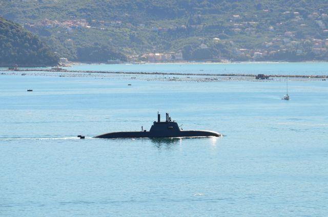 Sous-marin près de La Spezia