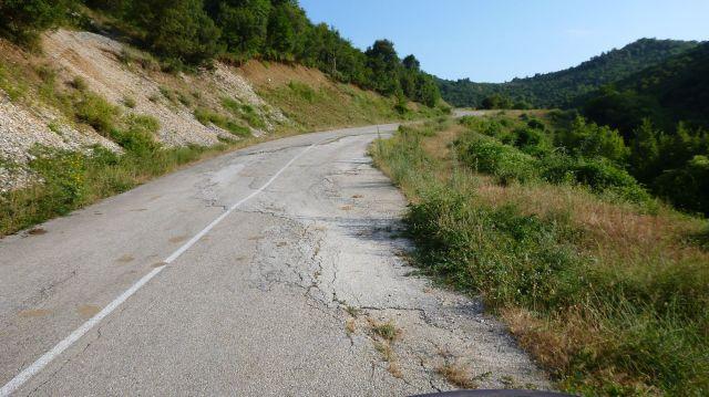 Route vers Aristi - Grèce