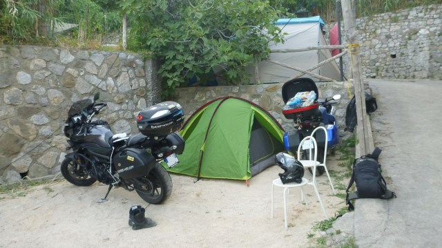 Notre emplacement au Camping Nettuno