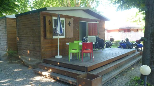 Notre mobile-home au Camping river