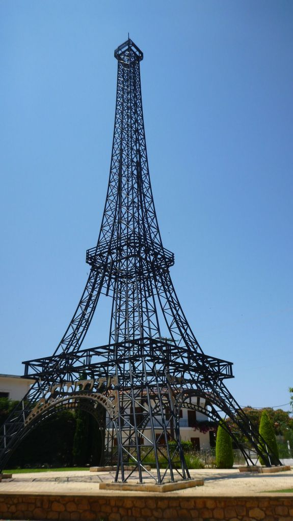 Tour Eiffel en chemin - Grèce