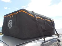 Travel Gear Car Roof Bag 800L Waterproof No Rack Hook & Go ...