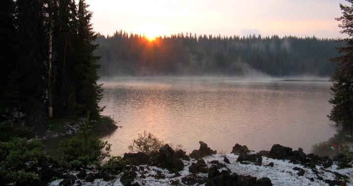 Canoe Camping Sparks Lake
