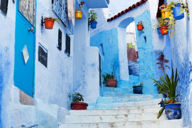 Chefchaouen, Morocco (blue town)