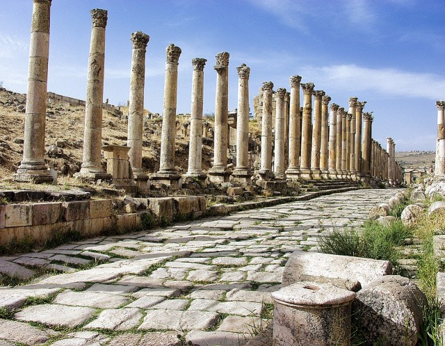 Ancient Roman city of Jerash, Jordan