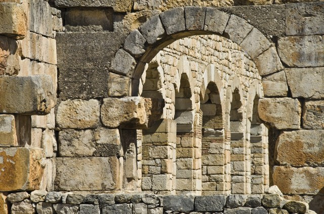 Ancient Roman city of Volubilis, Morocco