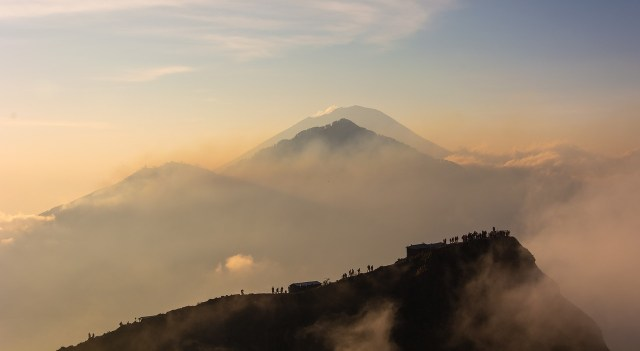 Kintamani Volcano (Mount Butur), Bali