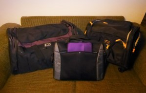 The 3 bag packing personals set