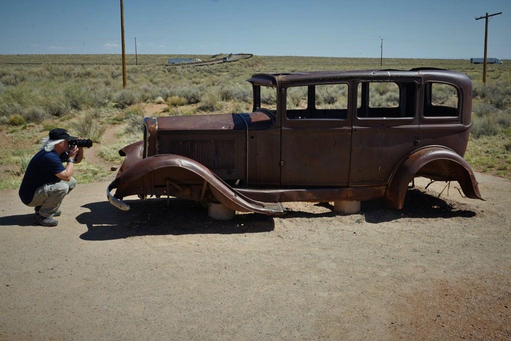 Studebaker on route 66