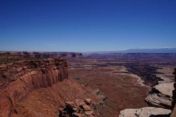 mesa in a desert canyon
