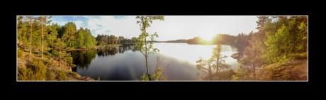 Miljö vid sjö