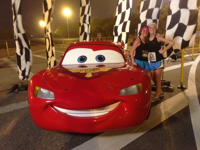 Lightning McQueen Disney Princess Half Marathon Race Day