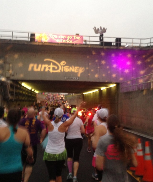 Disney Princess Half Marathon Race Day