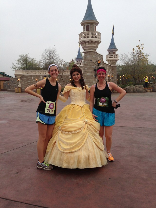 Belle at Disney Princess Half Marathon