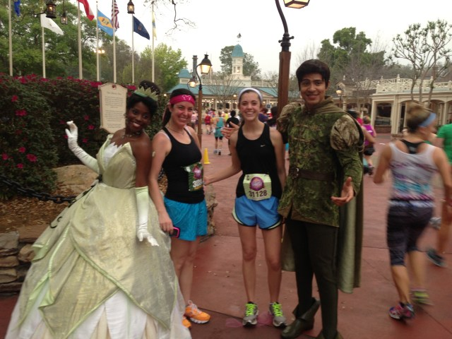 Tiana at Disney Princess Half Marathon