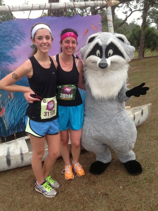 Meeko at Princess Half Marathon