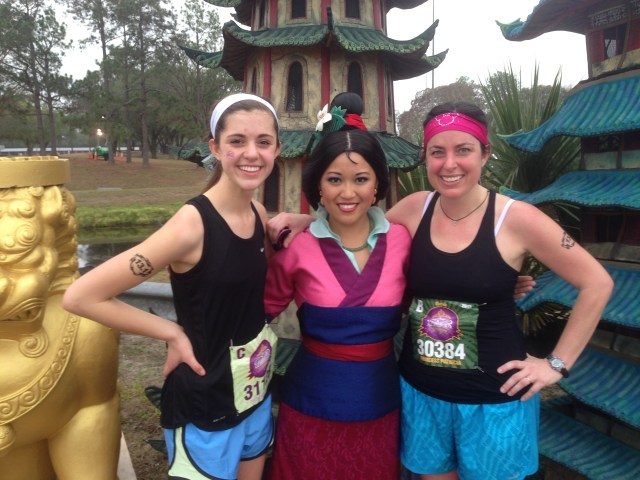 Mulan at Princess Half Marathon