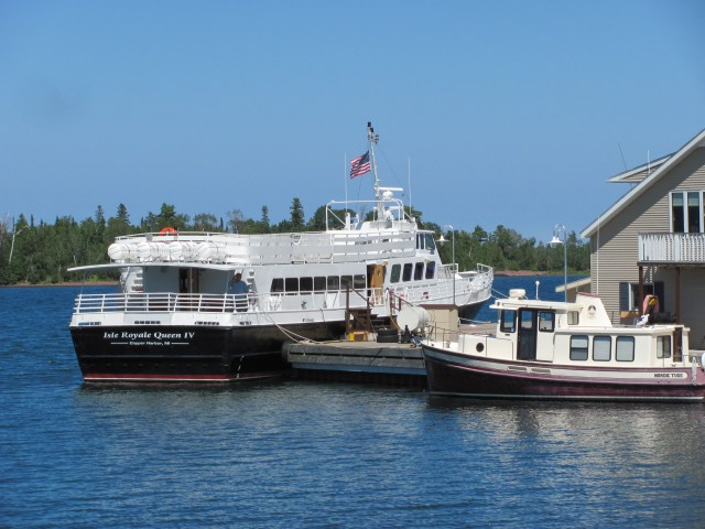 Isle Royale National Park: Isle Royale Queen IV