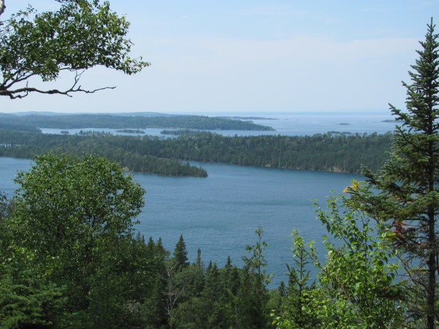 View From Lookout Louise at Isle Royale National Park