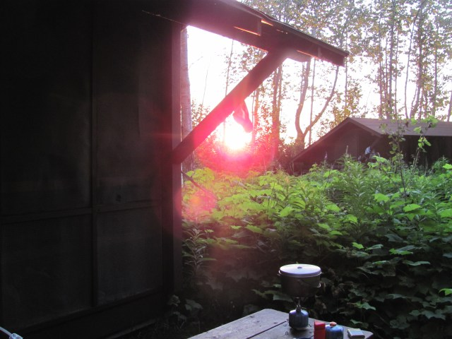 View From Our Shelter at Daisy Farm in Isle Royale National Park