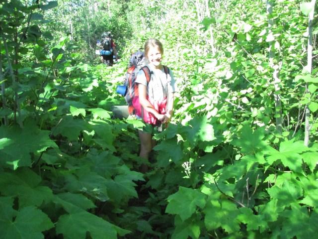Greenstone Ridge Trail to Hatchet Lake