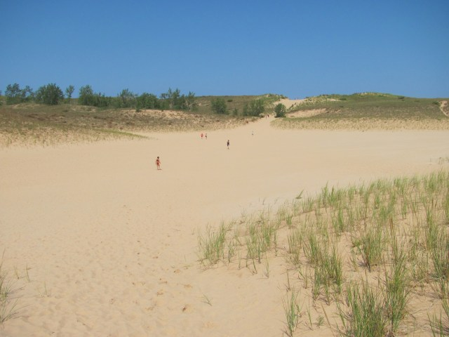 The Dune Climb at Sleeping Bear Dunes National Lakeshore
