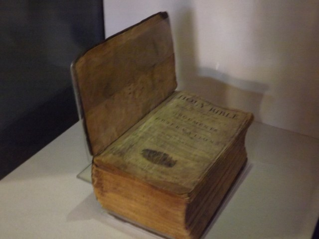 Lincoln Family Bible at Abraham Lincoln Birthplace National Historical Site