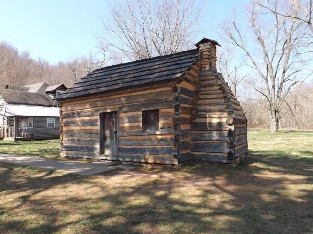Symbolic Cabin at Lincoln's Boyhood Home at Knob Creek