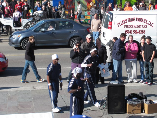 New Orleans With Kids: New Orleans Street Performers