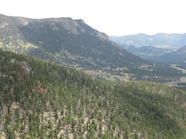 Rocky Mountain National Park Along the Trail Ridge Scenic Drive