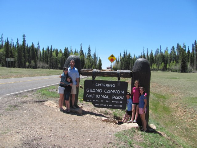Grand Canyon North Rim with kids