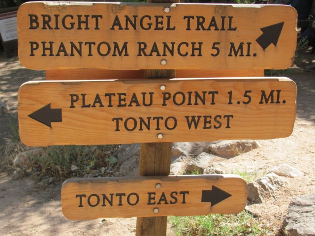 Grand Canyon Rim to Rim with kids: Indian Garden