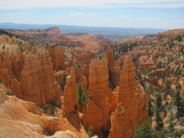 View From the Fairyland Loop Trailhead in Bryce Canyon National Park