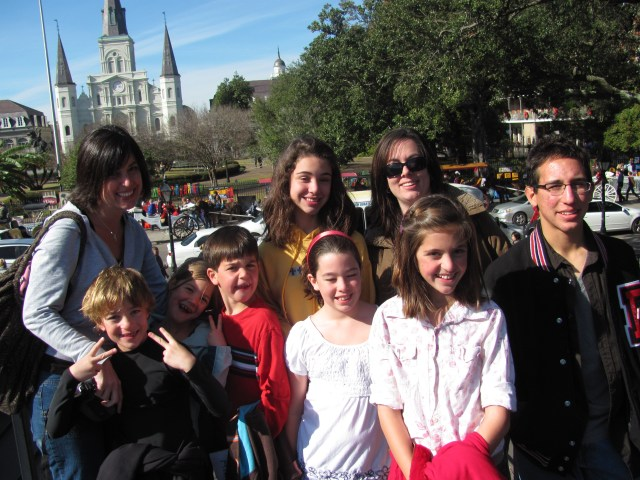 New Orleans With Kids: Jackson Square