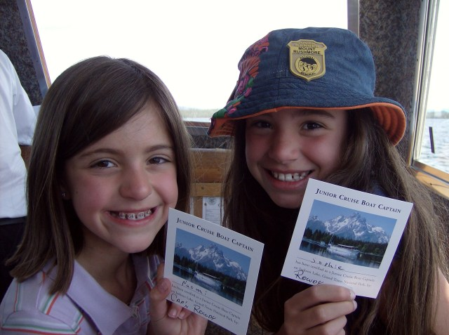 Honorary Shuttle Captains: Tent Cabin Camping in Grand Teton
