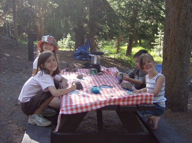 Yellowstone with kids: Canyon Campground