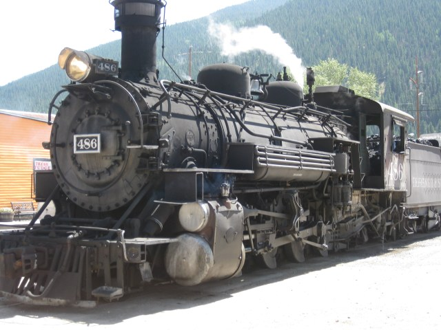 Durango-Silverton Train Million Dollar Highway