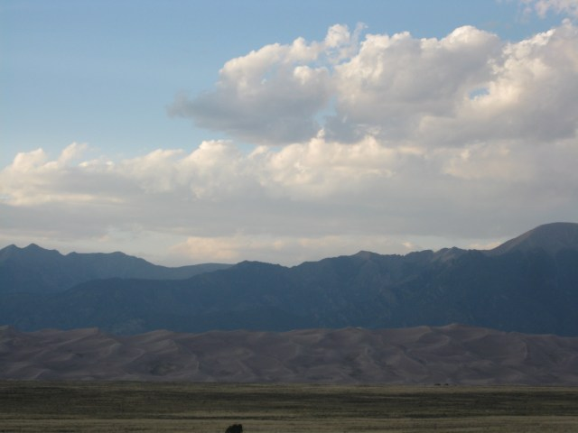 Evening At Great Sand Dunes National Park