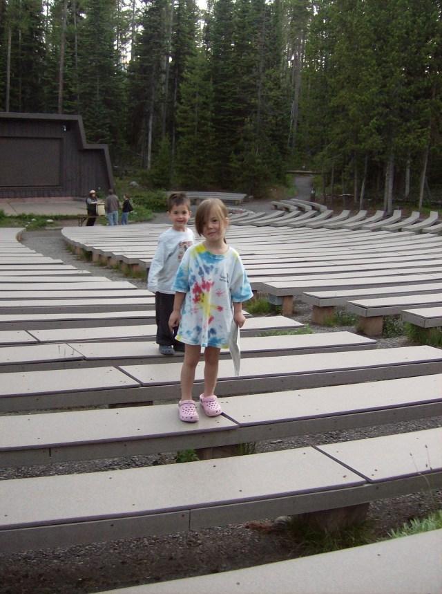 Ranger Program at Colter Bay Amphitheater: Tent Cabin Camping in Grand Teton