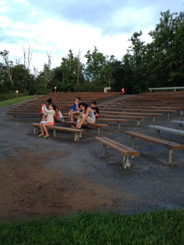 Ranger Talk at the Loft Mountain Amphitheatre: Shenandoah National Park