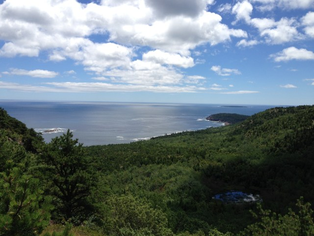 Views From the Beehive Trail in Acadia National Park