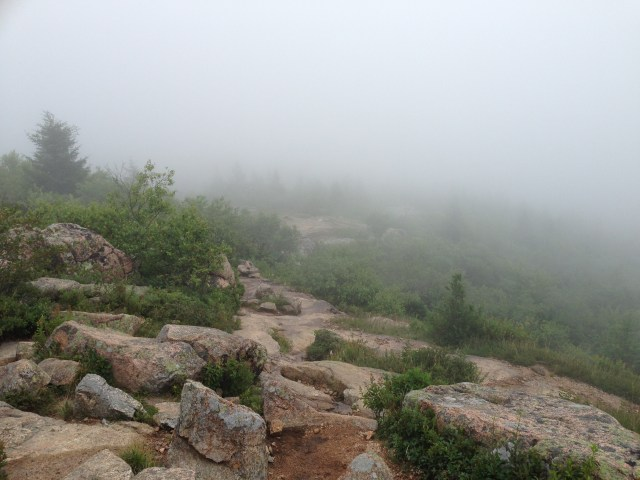 Climbing Cadillac Mountain With Kids : Cadillac Mountain Summit