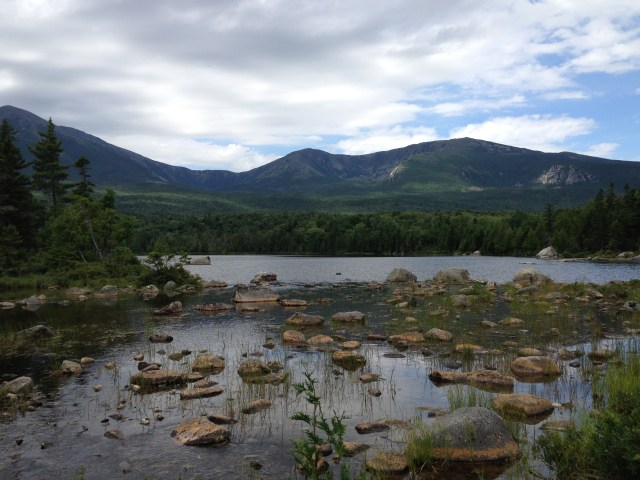 Climbing South Turner Mountain: Sandy Stream Pond in Baxter State Park