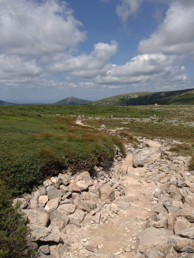 Climbing Mt Katahdin: Saddle Trail in Baxter State Park