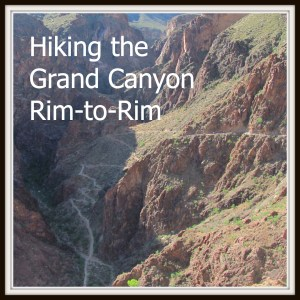 Hiking Grand Canyon Rim to Rim with kids