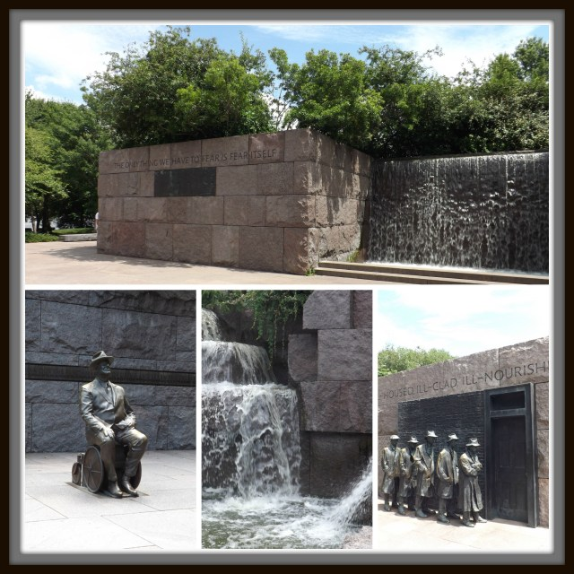 Washington D.C. in Only One Day: Franklin Roosevelt Memorial